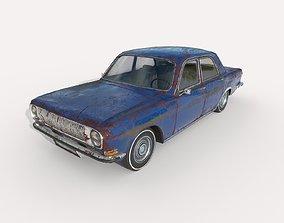 Abandoned Car 57 3D asset