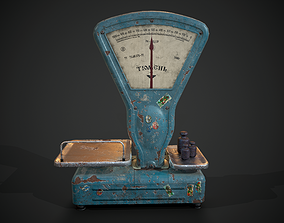 3D model scales Tumen
