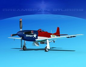 P-51 Mustang Sport V05 3D