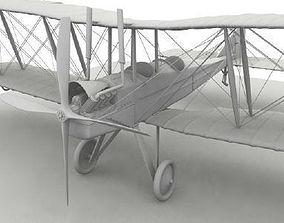 3D Royal Aircraft Factory BE2c no material