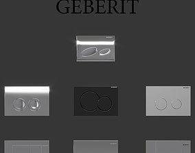 3D model Flush buttons Geberit