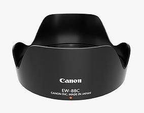 Canon tulip lens hood for EF 24-70mm USM lens 3D model