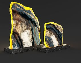 3D model Decorative Figurine Geode Slices