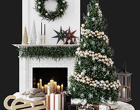 Christmas Decorative set sk 1 3D model decor