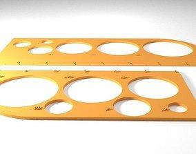 Drafting Rulers 3D printable model