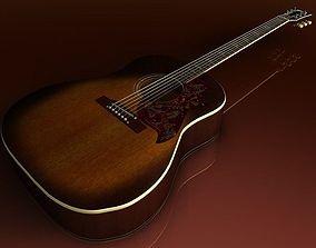 Gibson Hummingbird 3D