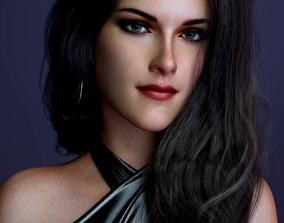 3D model Kristen Stewart