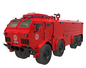 3D model Firefighters vehicle