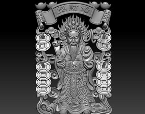 Chinese God of wealth 3D print model