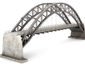 Rusty Old Bridge 3D asset