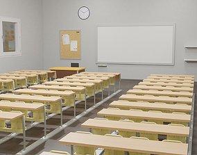 Interior Classroom Scene conference 3D