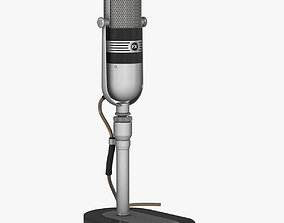 Microphone - RCA 77 DX 3D model