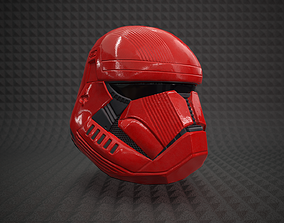 Sith Trooper Helmet - Star Wars The Rise Of The 3D asset 1