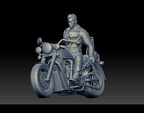 3D printable model Arnold Schwarzenegger Terminator