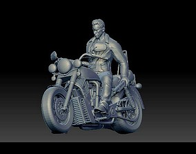 3D print model Arnold Schwarzenegger Terminator