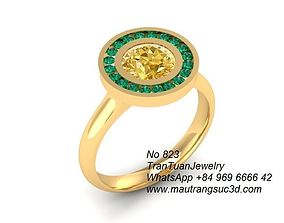 3D printable model 823 Diamond Ring