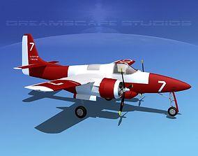 Grumman F7F Tigercat V08 3D