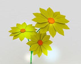 origami 3D asset