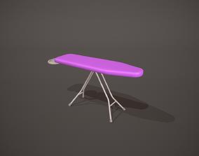 3D asset Purple Ironing Board