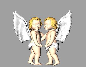 baby Angel Baby 3d Model