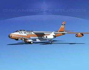 Boeing B-47A Stratojet V01 3D