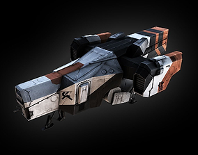 District 9 Dropship 3D model
