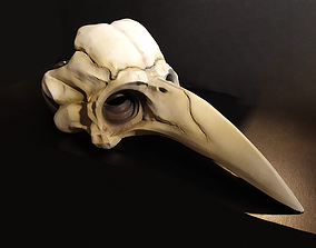 Skeleton Plague Doctor Mask 3D printable model