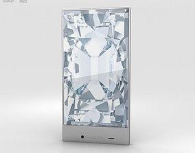 3D model Sharp Aquos Crystal Black