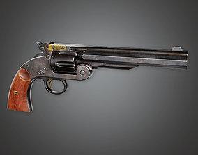 3D model FPS Western Pump Shotgun - Steffen - WES - PBR 1