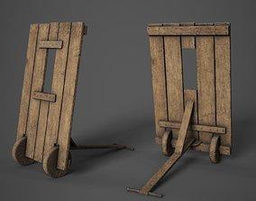 Medieval Mantlet 3D model realtime