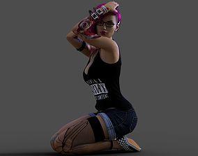 3D model Hipster Suicide Girl