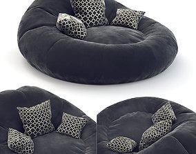3D Foam Bean Bag Chair Set
