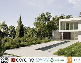 3D Mediterranean plants Collection - Include GrowFX and