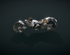 3D power Futuristic Motorcycle Volume 1