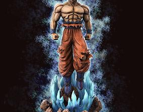 Goku Ultra Instinct Dragon Ball Super - 3d print model