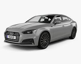 Audi A5 Sportback 2017 3D model