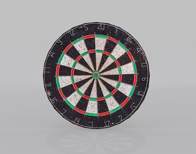 Dart Board 3D model low-poly