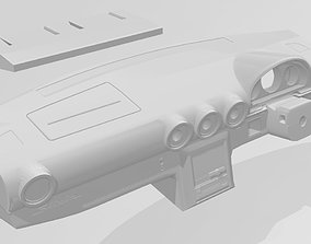 S15 dash with options for RC 3D printable model