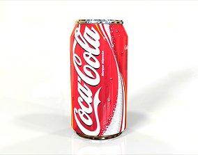 soda Coca Cola Can 3D model