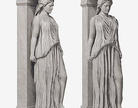 3D model Caryatid Sculpture