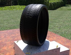 ORTAS TIRE NO 37 GAME READY AND 3D PRINTABLE