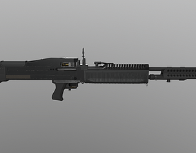 3D asset M 60 LMG