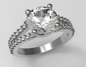 3D printable model Wedding Ring Mother Gift art 0526