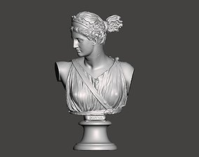 Diana Artemis bust 3d printing art