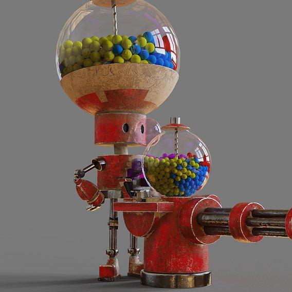 Robot Gum