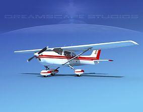 Cessna 172 Skyhawk 1976 V04 3D model