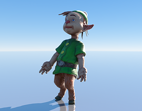 Forest Dweller 2 Low-poly 3D model animated realtime