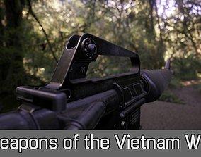 Weapons of the Vietnam War 3D model