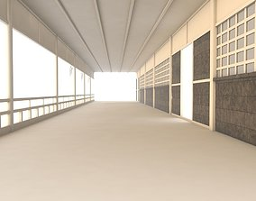 Chinese Hallway 3D model