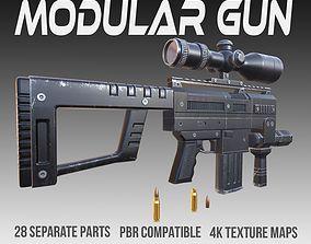 Modular Gun PBR Vol 4 3D model